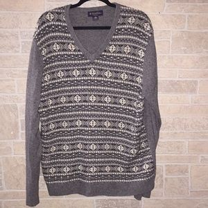 BROOKS BROTHERS CAMEL HAIR SWEATER